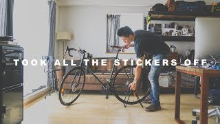 Finally took all the stickers off ☆ やっとステッカー全部剥がし終わったー! thumbnail