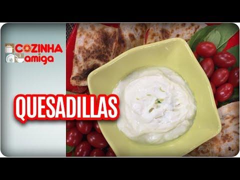 Quesadillas  - Raquel Novais | Cozinha Amiga (27/11/17)