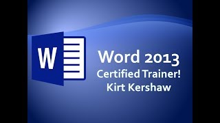 Word 2013 Word To PowerPoint Training Video