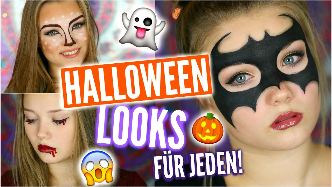 3 einfache halloween karneval looks f r jeden julia beautx youtube. Black Bedroom Furniture Sets. Home Design Ideas
