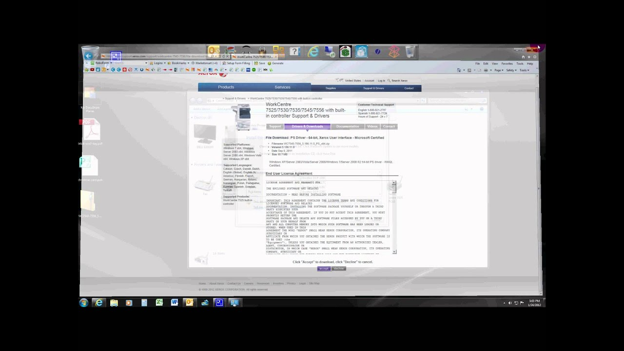 Xerox Scan Utility Windows 10