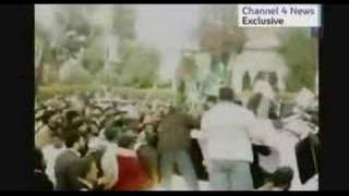 benazir new assassination video channel4 ( channel 4 news )