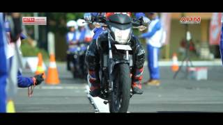 Download Video Astra Honda Safety Riding Instructor Competition 2013 Mataram Lombok MP3 3GP MP4