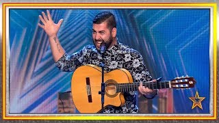 Ha acompañado a GRANDES CANTANTES y ahora es su momento | Audiciones 7 | Got Talent España 2019