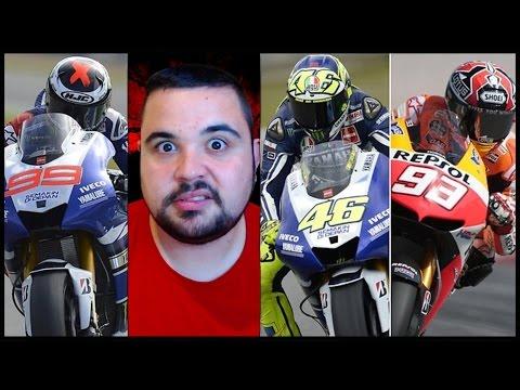 Valentino Rossi Vs Lorenzo e Marquez su Valencia...Forza Dottore.