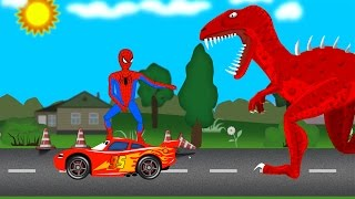 Learn Colors with Lightning McQUEEN Cars Cartoon for Kids - Surprise Eggs - Videos for Children