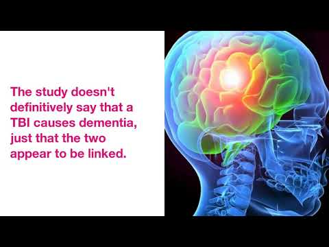 Dementia Linked to Traumatic Brain Injuries, Even Years Later