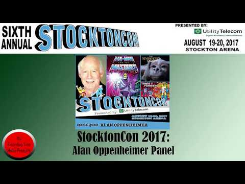 StocktonCon 2017: Alan Oppenheimer Panel