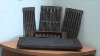 видео Колосники для печей, котлов, каминов из чугуна своими руками