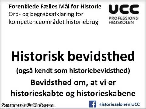forenklede fælles mål historie