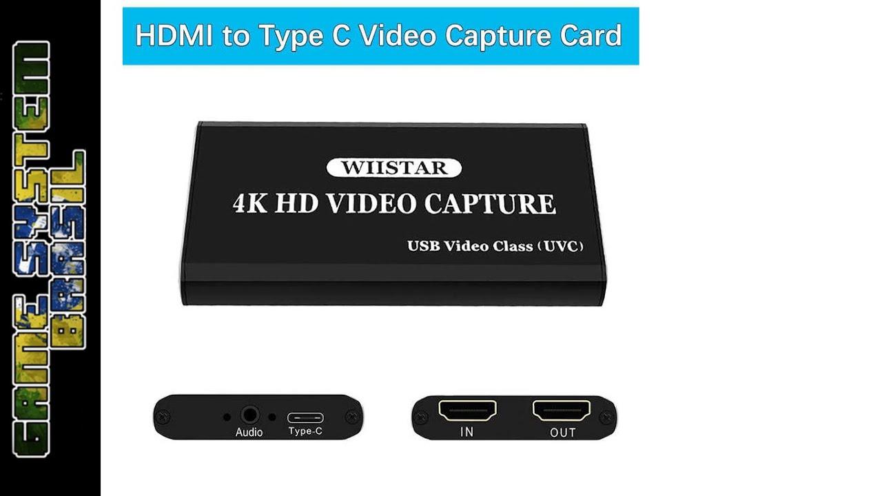 Elgato pra que? (Placa de captura de R$100 do aliexpress - Unboxing e teste) Wiistar 4K HDMI capture