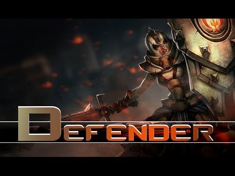 League of Legends: Defender Leona (HQ Skin Spotlight)