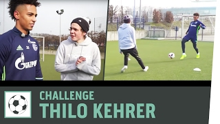 Tor-zu-Tor-Challenge vs. Profi Thilo Kehrer | FC Schalke 04 | Kickbox