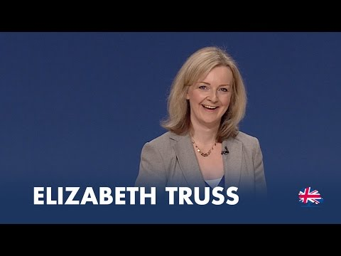 Liz Truss: Speech to Conservative Party Conference 2014