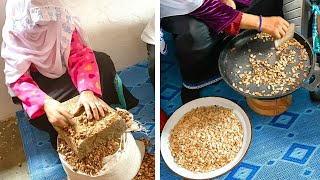 The Incredible Process of Making Argan Oil in Morocco! #Shorts