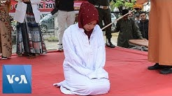 Woman in Indonesia Flogged for Pre-Marital Sex in Aceh, Banned Under Sharia Law
