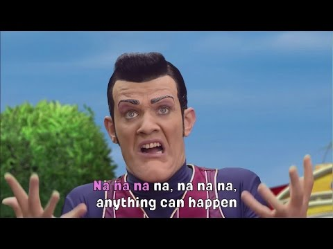 Lazy Town I Anything Can Happen Music Video