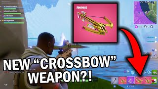 "*NEW* Fortnite ""Crossbow"" Weapon coming TOMORROW! (New skins valentines day update)"