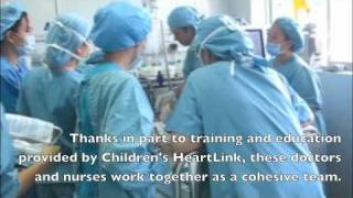 Your support of Children's HeartLink at work!