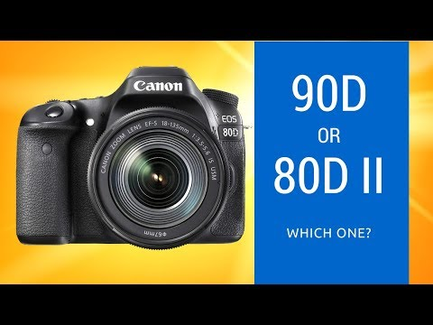 Canon 90D vs Canon 80D Mk II - Is a 90D Coming or an 80D Mark II?
