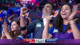 Pro Kabaddi 2018 | Eliminator 3 – Dabang Delhi vs UP Yoddha | Match Highlights | HINDI