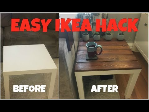IKEA Lack Endtable Hack