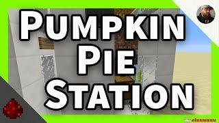 Pumpkin Pie farms | Minecraft 1.13.2 | The 12 Days of Christmas tutorials Day 2