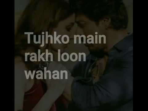 HAWAYEIN |ARIJIT SING| Lyrics  video jab harry met sejal |SHAH RUKH KHAN|