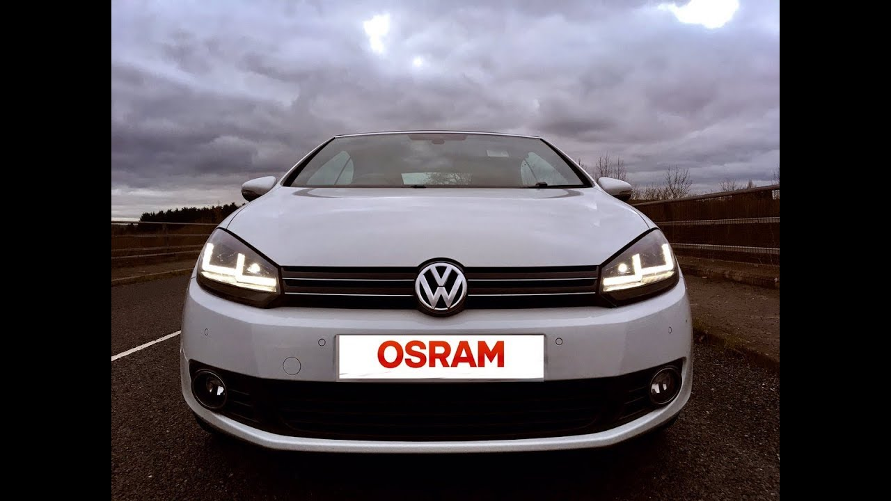 mk6 vw golf install guide osram ledriving xenarc lights. Black Bedroom Furniture Sets. Home Design Ideas