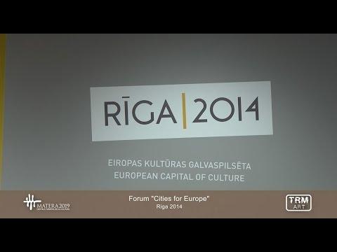 """Forum """"Cities for Europe"""" - Riga 2014"""
