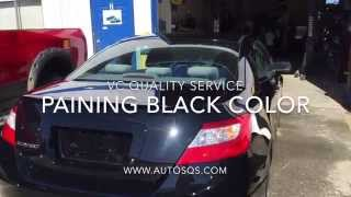 Painting Black Color VC Quality Service  - www.VC-QS.com