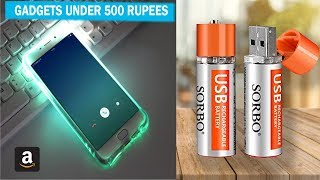 5 HI-TECH SMARTPHONE GADGETS UNDER 500 RUPEES ▶ You Can Buy On Amazon
