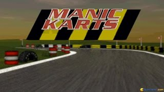 Manic Karts gameplay (PC Game, 1995)