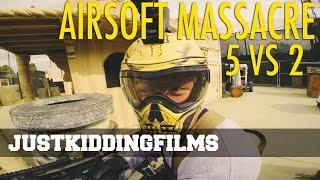 Airsoft Massacre - 5 vs 2 Thumbnail