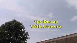 Black Falcon Spy Drone With Camera Review - RC Quadcopter For Fun