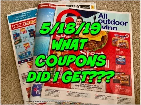 5/18/19 COUPON INSERT PREVIEW – 2 INSERTS | TARGET GIFT CARD DEALS