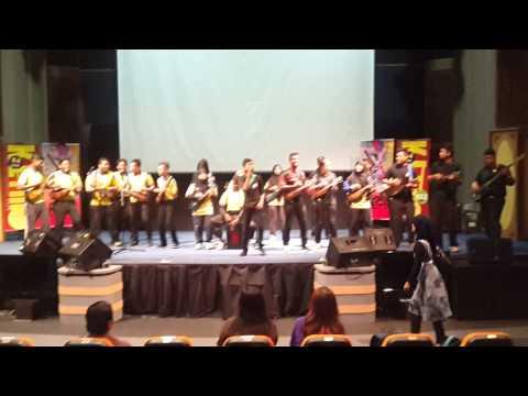 terbaik kumpulan budak sekolah nyanyi lagu hindustan