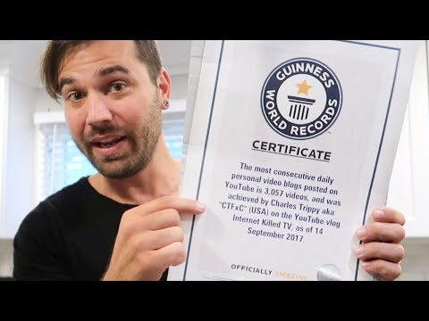 BREAKING A NEW GUINNESS WORLD RECORD!