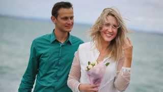 Свадьба как кино в Окленде! Dima + Lena, love Story by UralGareeev.ru