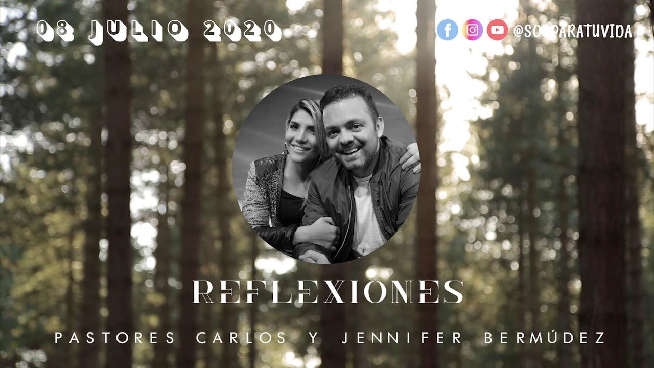 REFLEXIONES S.O.S - No pongas excusas - Pastores Carlos y Jennifer Bermúdez . Julio 8 2020