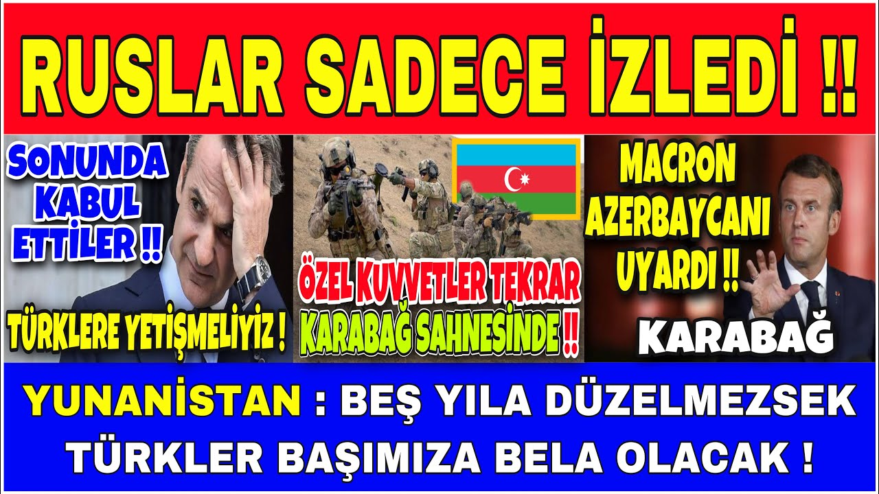 AZERBAYCAN ÖZEL KUVVETLERİ KARABAĞDA SIZMA OPERASYONUNDA !! [ YUNAN MEDYASI İTİRAF ETTİ ! ]