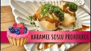 Karamel Soslu Profiterol