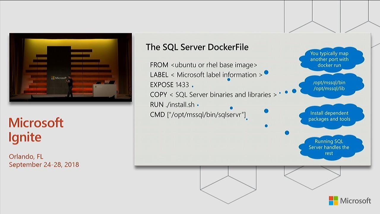 Inside SQL Server containers - BRK4017
