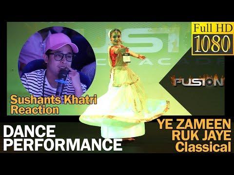 Yeh Zameen Ruk jaye | Sushant khatri Reaction | TFDC
