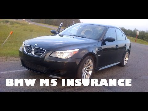 How Much Is Insurance on My BMW E60 M5