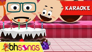 Happy Birthday karaoke song with lyrics | Family Style | Nursery Rhymes | Ultra HD 4K Music Video