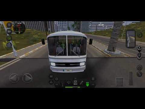 Menyetir Bus Mercedes-Benz O302 HL di Bus Simulator Ultimate  