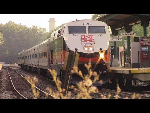 Amtrak & Metro North Trains at Peekskill, NY
