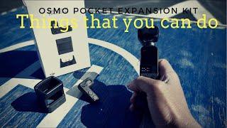 DJI OSMO POCKET | EXPANSION KIT | field test