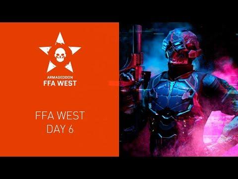 Warface Armageddon: FFA West. Day 6